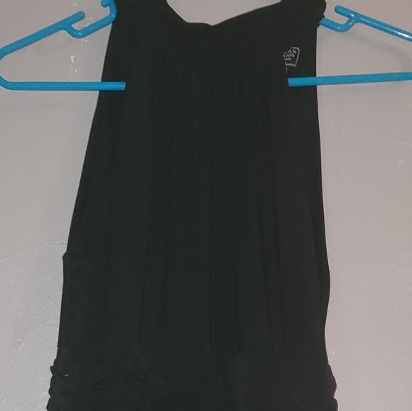American Living Juniors Black Collar dress